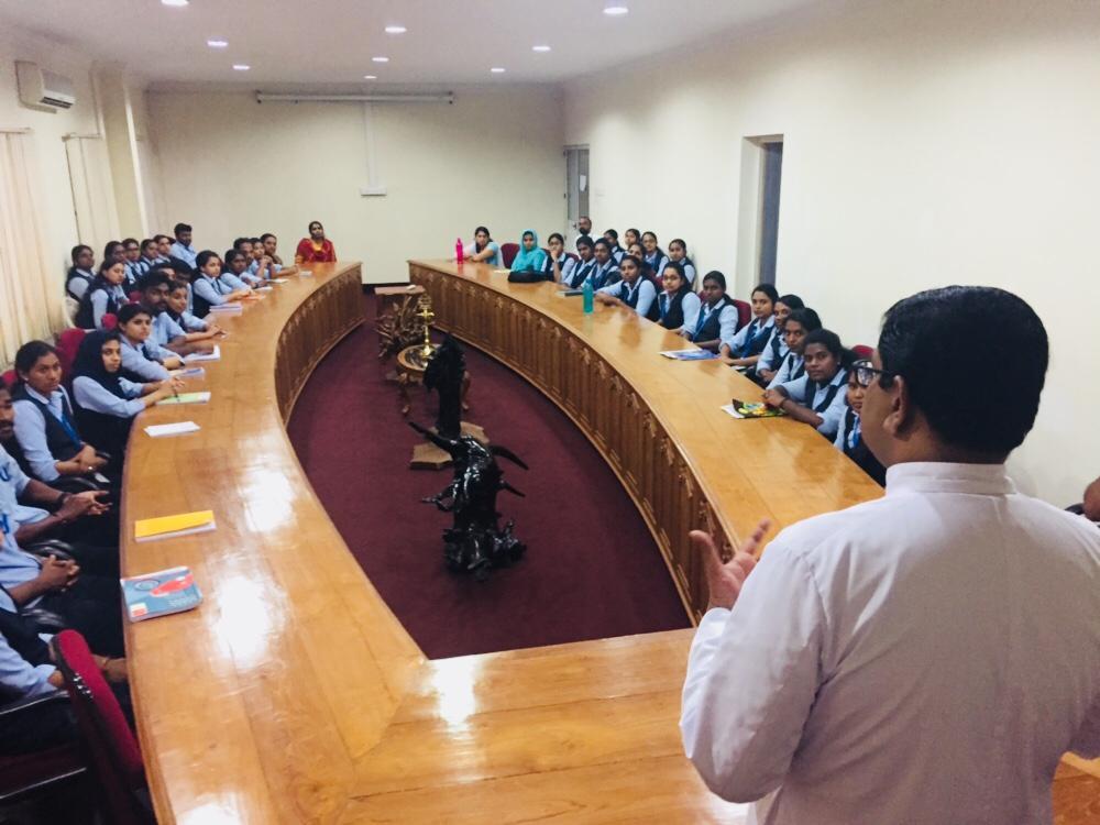 Pushpagiri Research Center Macfast visit
